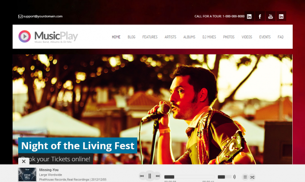 Musicplay-WordPress
