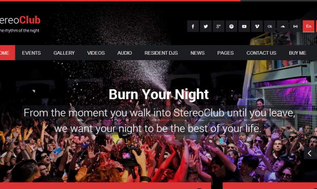 Stereoclub-WordPress
